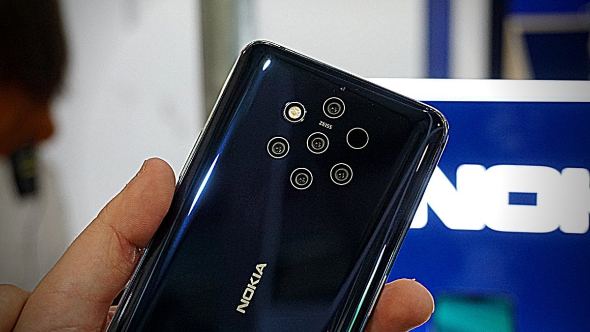 Nokia 9.3 PureView Under Display Camera Teased Again