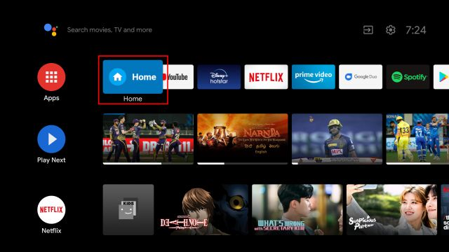 Zainstaluj Google TV na Android TV