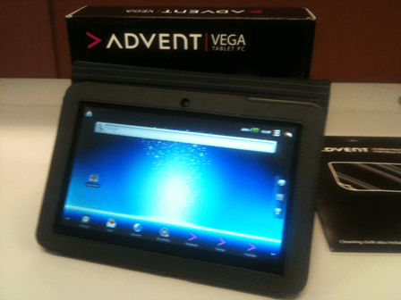 Jak odinstalować Advent Vega Tablet