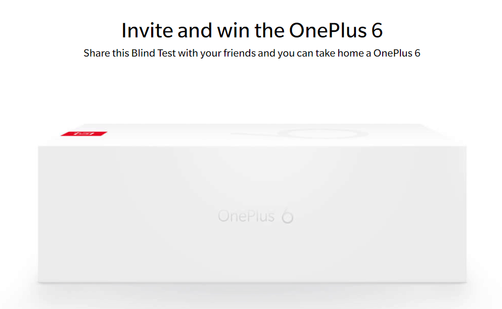 Konkurs OnePlus 6 Blind Test, Win OnePlus 6, Goodies i Voucher