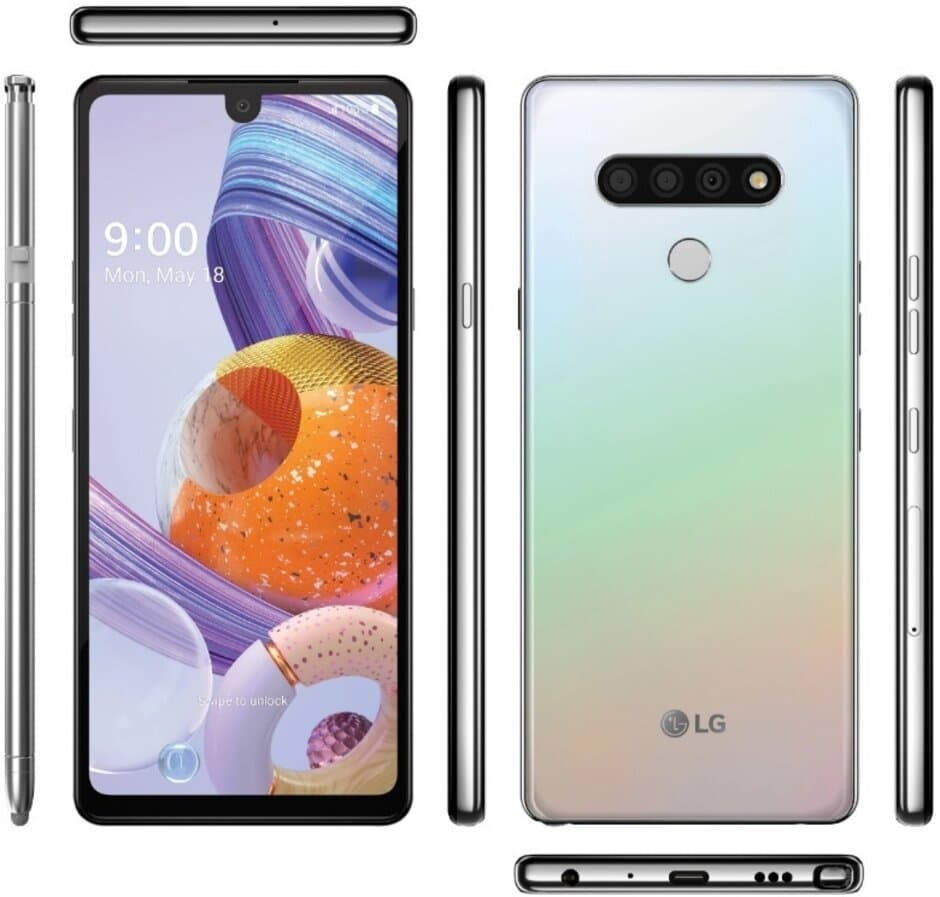 LG Stylo 6 renders exposed